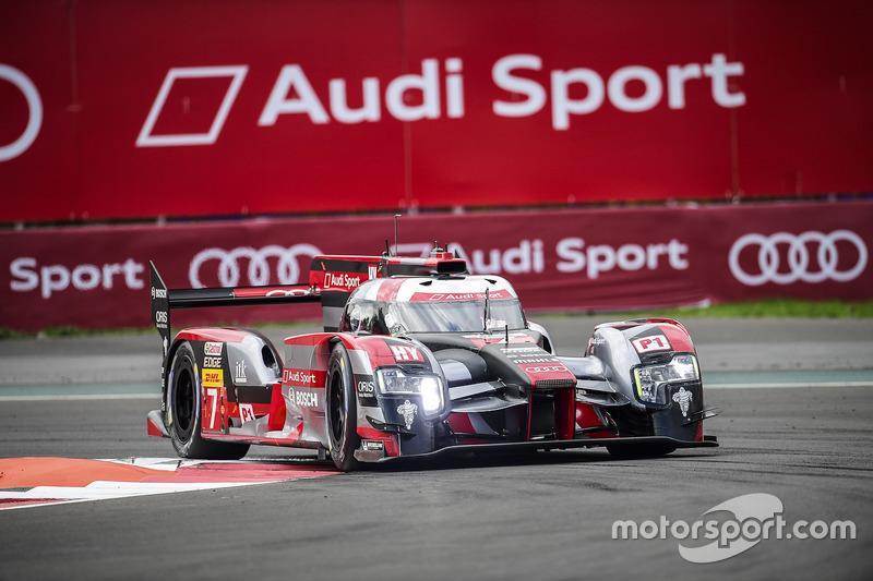2. LMP1: #7 Audi R18 e-tron quattro: Marcel Fässler, Andre Lotterer