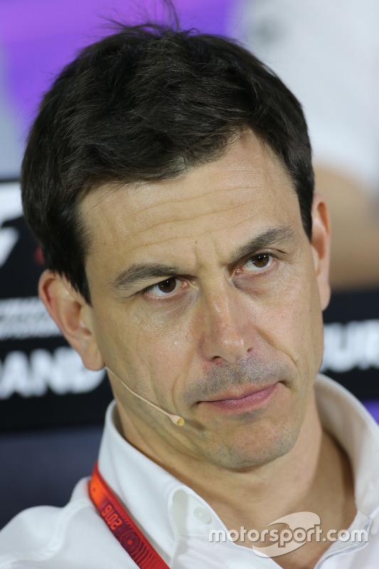 Toto Wolf director de Mercedes AMG F1 Team