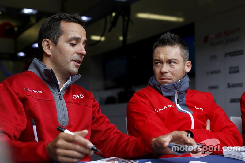 #7 Audi Sport Team Joest Audi R18: Андре Лоттерер, Бенуа Трелує
