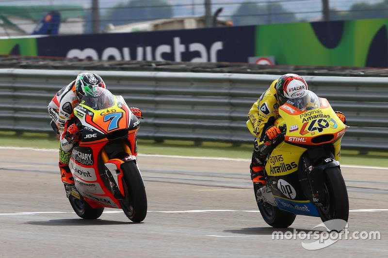 Alex Rins, Paginas Amarillas HP 40; Lorenzo Baldassarri, Forward Racing