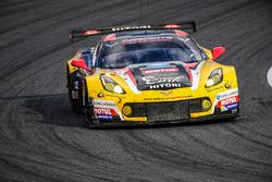 #50 Larbre Competition Corvette C7.R: Ricky Taylor, Yutaka Yamagishi, Pierre Ragues