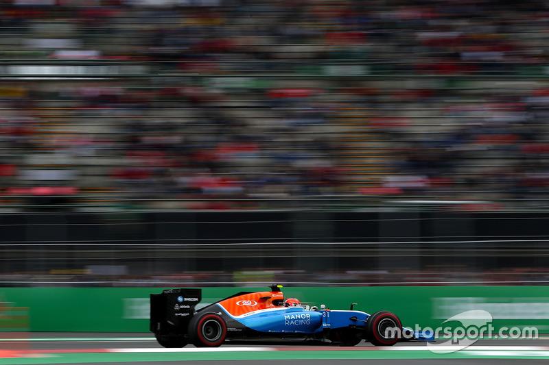 Esteban Ocon, Manor Racing