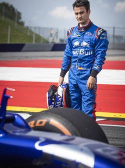 Dani Pedrosa tests a Toro Rosso