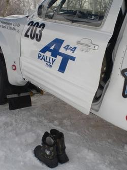 Зимова гонка вимагає змінного взуття - Mitsubishi Костянтина Полійчука та Юрія Кондратьєва