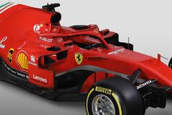 Ferrari SF71H detalle del halo