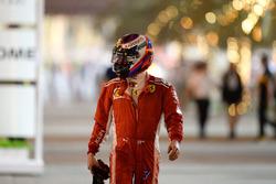 Kimi Raikkonen, Ferrari revient au stand à pied