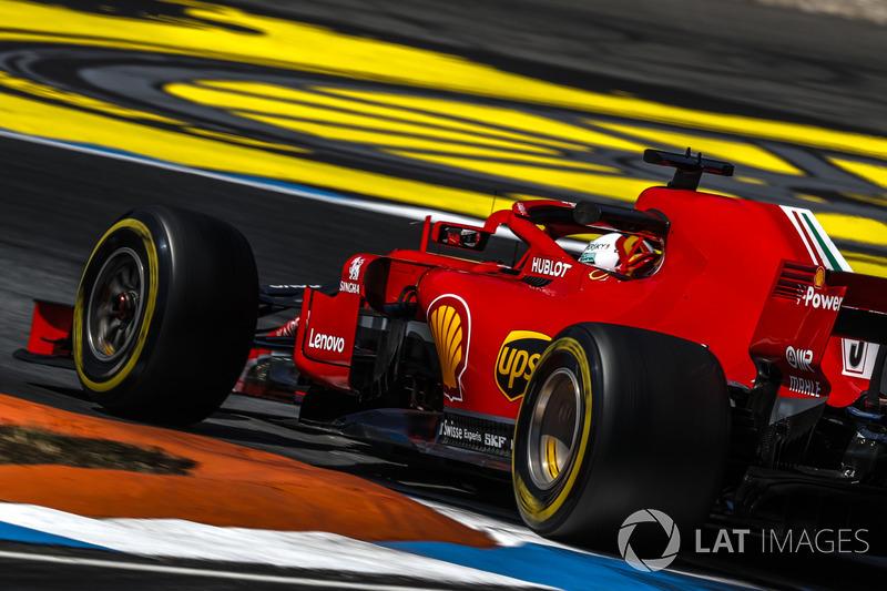 1. Sebastian Vettel, Ferrari SF71H