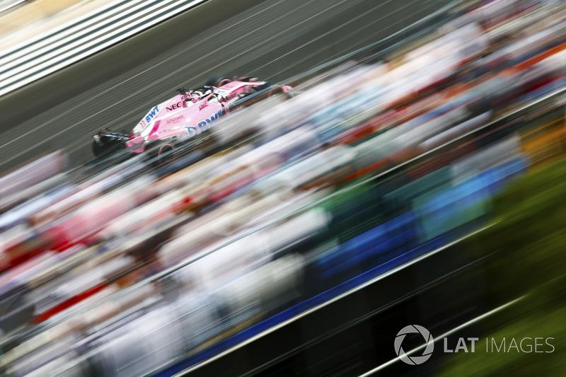 9: Sergio Perez, Force India VJM11, 1'12.154