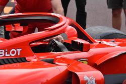 Ferrari SF71H, halo