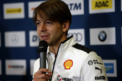 Conferenza stampa, Augusto Farfus, BMW Team RMG
