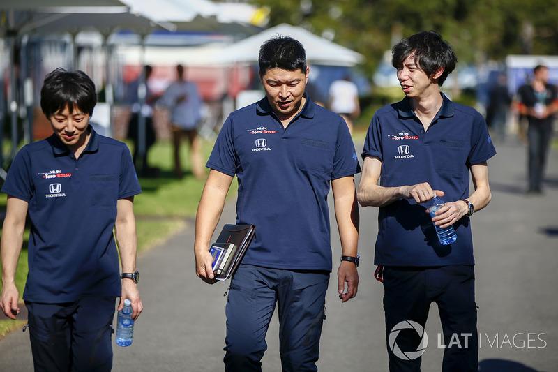 Ingegneri Toro Rosso Honda
