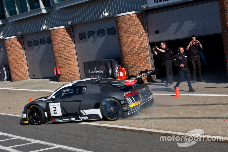 #2 Belgian Audi Club Team WRT Audi R8 LMS: Will Stevens, Dries Vanthoor