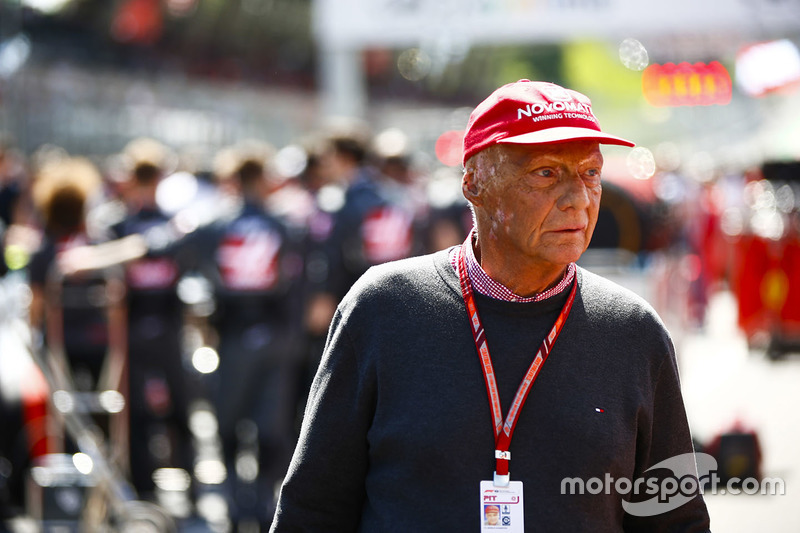 Niki Lauda, presidente no ejecutiva de Mercedes AMG