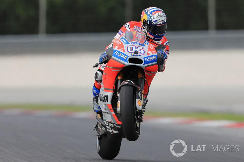 1. Андреа Довіціозо, Ducati Team - 25 очок