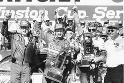 Race winner Bill Elliott