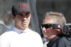 Robert Wickens, Schmidt Peterson Motorsports Honda and Sam Schmidt