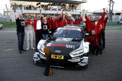 Рене Раст, Audi Sport Team Rosberg, Audi RS 5 DTM, святкує з командою