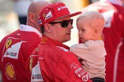 Кими Райкконен, Ferrari и его сын Робин