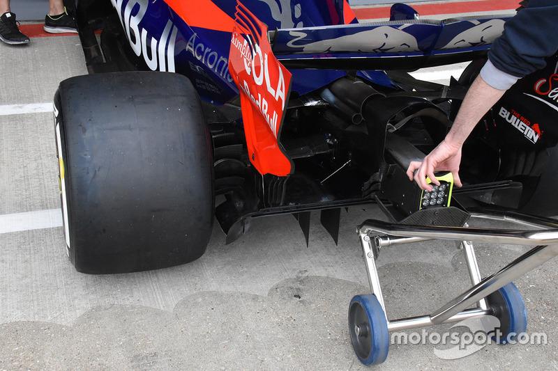 Toro Rosso STR12: Heckpartie