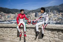 Charles Leclerc, PREMA Racing y Nobuharu Matsushita, ART Grand Prix