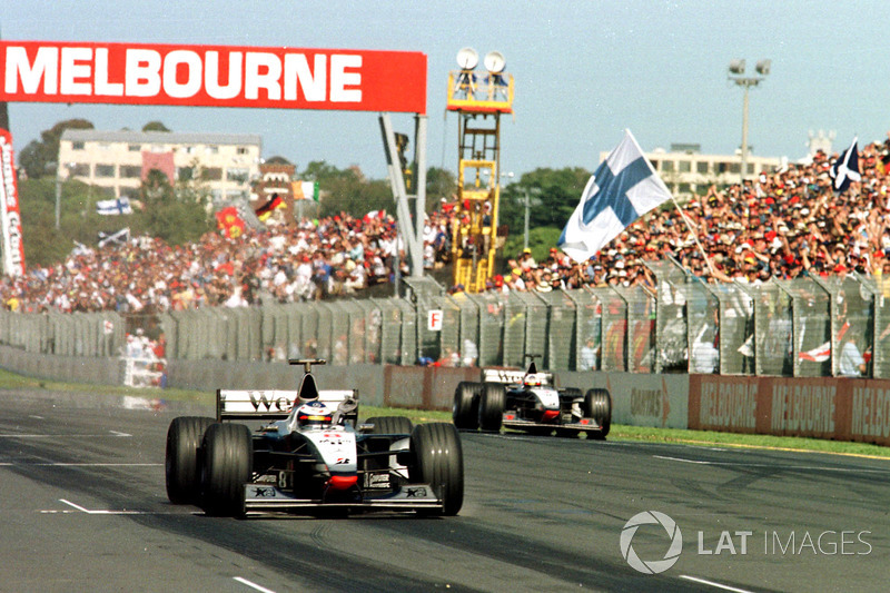 En 34 ocasiones en la historia de la F1, el ganador de la primera carrera de la temporada ganó el título de ese mismo año