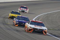 Matt Kenseth, Joe Gibbs Racing Toyota, Denny Hamlin, Joe Gibbs Racing Toyota, Daniel Suarez, Joe Gibbs Racing Toyota
