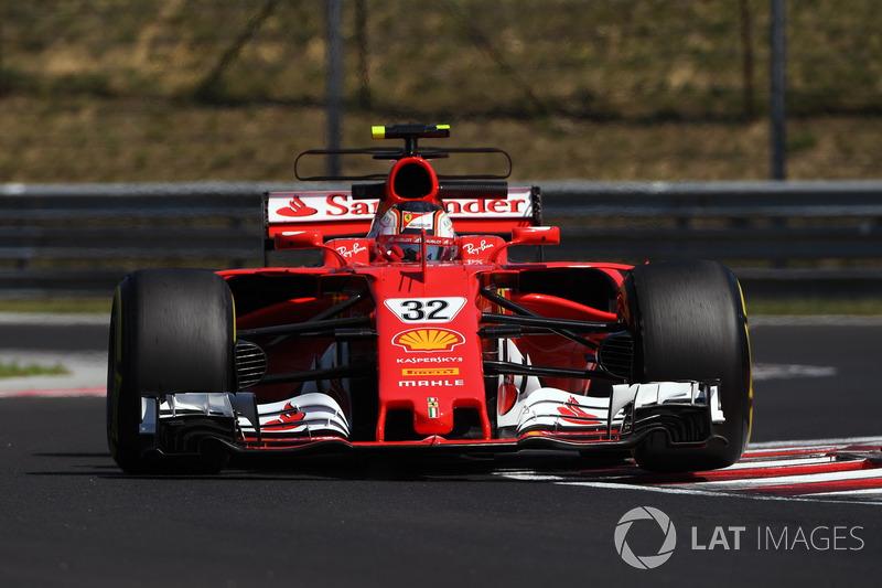 Volvió a disputar test de F1 en 2017, esta vez con Ferrari, demostrando estar listo para dar el salto a la principal categoría del automovilismo..