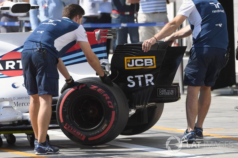 Alerón trasero Williams FW40