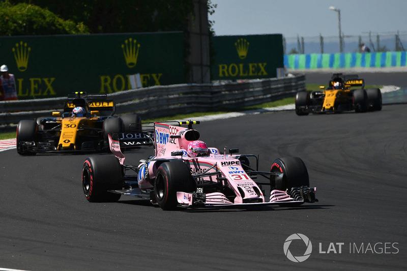 8 місце - Естебан Окон, Force India