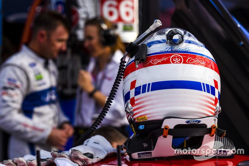 Polesitter GTLM: Joey Hand, Ford Performance Chip Ganassi Racing