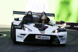 Ryan Hunter-Reay driving the KTM X-Bow Comp R