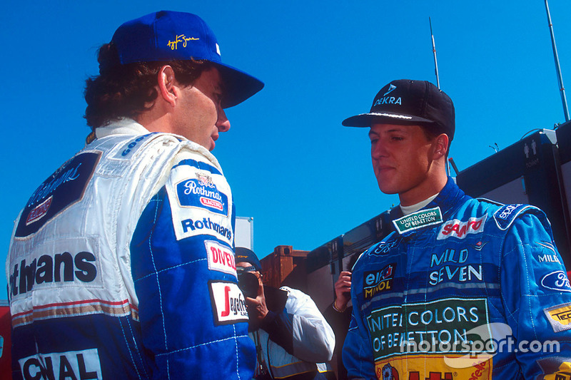 Ayrton Senna, Williams, Michael Schumacher, Benetton