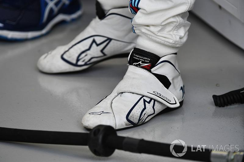Felipe Massa, Williams Alpinestars-Rennschuhe