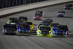 Christopher Bell, Kyle Busch Motorsports Toyota, Chase Briscoe, Brad Keselowski Racing Ford, Matt Crafton, ThorSport Racing Toyota, Austin Cindric, Brad Keselowski Racing Ford