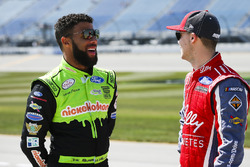 Darrell Wallace Jr., Biagi-DenBeste Racing Ford, Ryan Reed, Roush Fenway Racing Ford