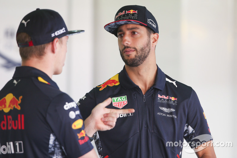 Max Verstappen, Red Bull, talks, Daniel Ricciardo, Red Bull Racing