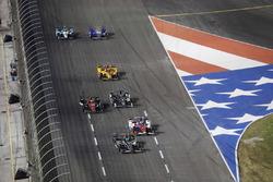 J.R. Hildebrand, Ed Carpenter Racing Chevrolet Carlos Munoz, A.J. Foyt Enterprises Chevrolet