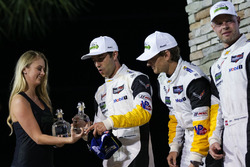GTLM podium: winners Antonio Garcia, Jan Magnussen, Mike Rockenfeller, Corvette Racing