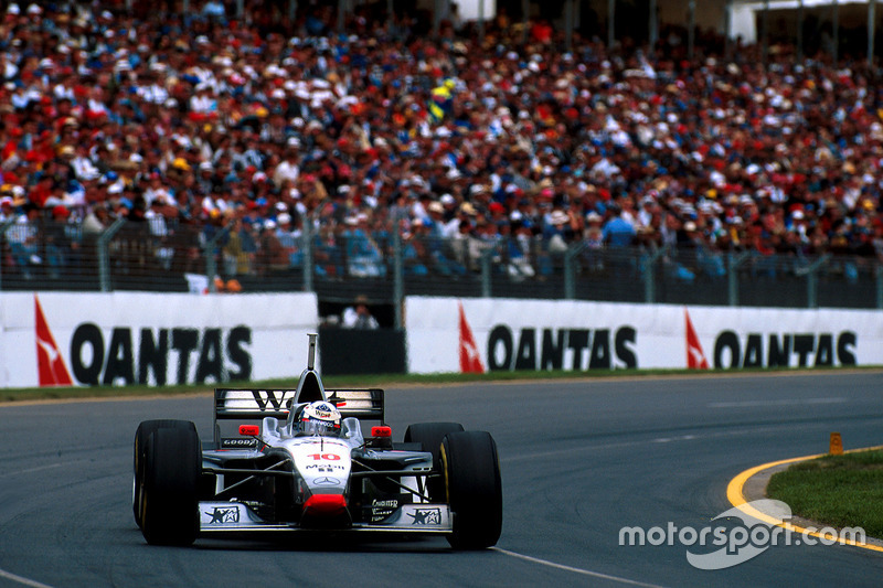1997: David Coulthard, McLaren-Mercedes MP4/12