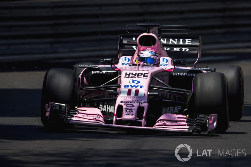 Fin de una racha de carreras en los puntos, GP de Mónaco 2017