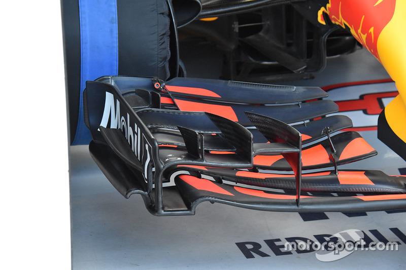 Переднє антикрило Red Bull Racing RB13