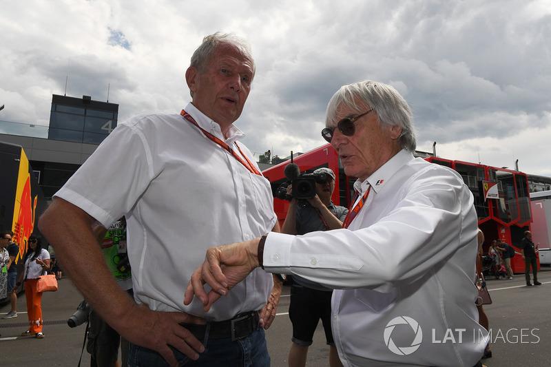 Консультант Red Bull Гельмут Марко, Берні Екклстоун