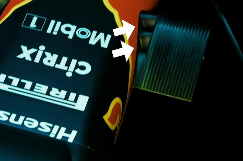 تفاصيل الكاميرا الأمامية لسيارة ريد بُل آر.بي13