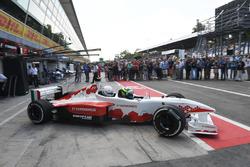 F1-Doppelsitzer: Zsolt Baumgartner, Gene Haas