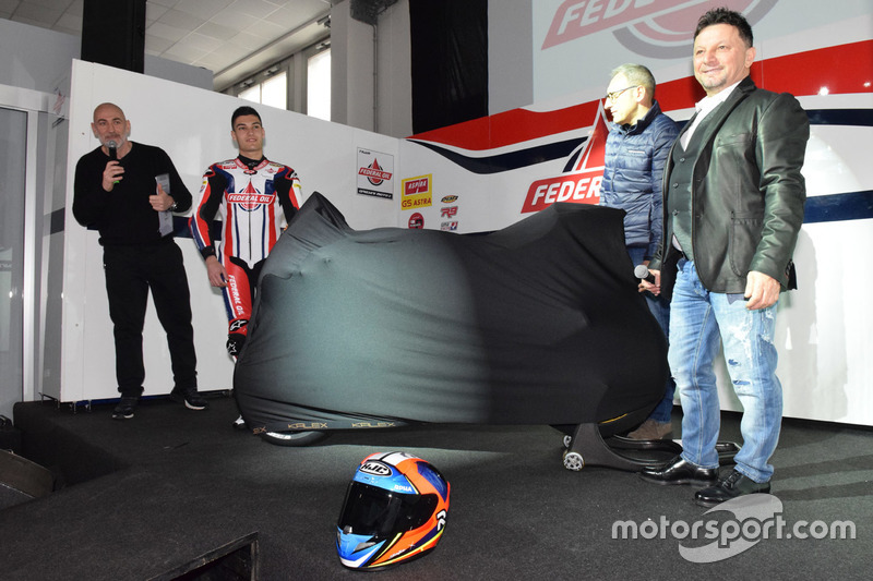 Fausto Gresini, Team Manager Federal Oil Gresini Moto2 y Jorge Navarro, Federal Oil Gresini Moto2