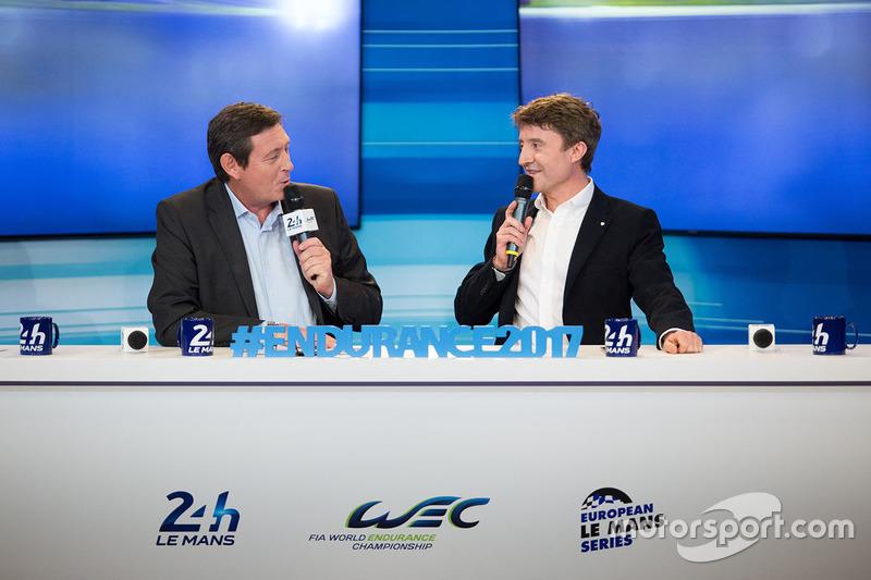 Gerard Neveu, CEO de WEC con Bruno Vandestick
