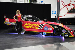 Courtney Force with Chevrolet Camaro Funny Car
