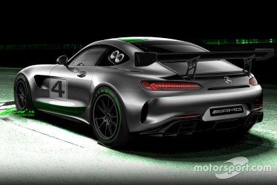 Mercedes-AMG GT4 announcement