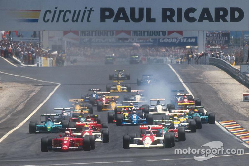 Две конфигурации «Поль Рикара» принимали Гран При Франции. На этапе 2018 года дебютирует третий вариант конфигурации трассы в Ле-Кастелле