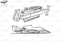Renault RS10 1979 aerodynamic overviews